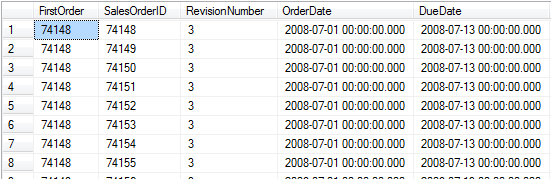 First_Value SQL analytic function in SQL Server 2011