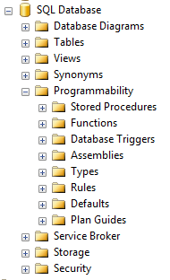 sql-server-2008-programmability-features-list