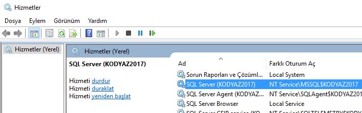 SQL Server service