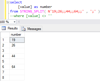 how to write a contains statement in sql