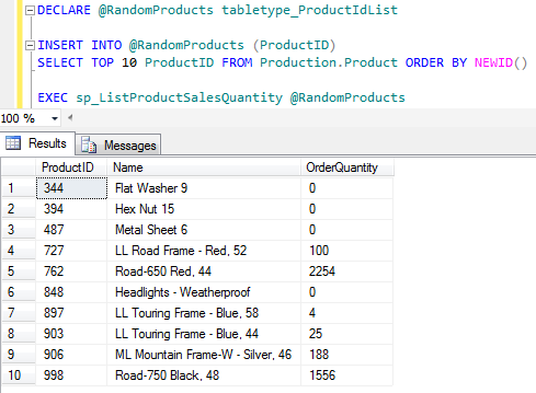 Sql declare table variable sql server how to use variable for Table variable in sql server