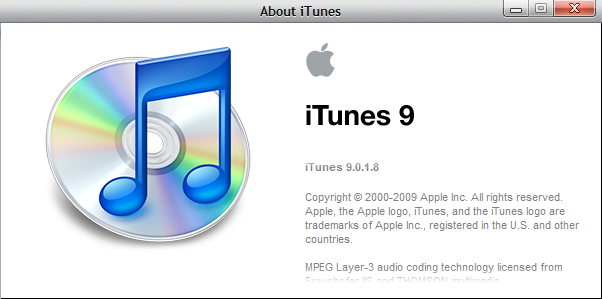 Apple iTunes for Windows 7