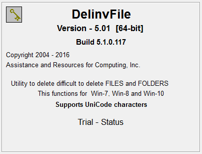 utility to delete invalid files