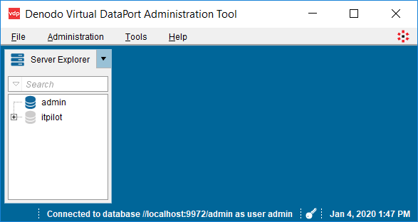 Denodo data virtualization tool