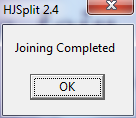 joinning splitted files 001 completed hjsplit