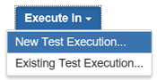new test execution or ad-hoc test execution