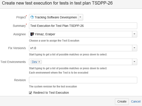Test Execution definition