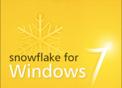 Snowflake for Windows 7 multi-touch software