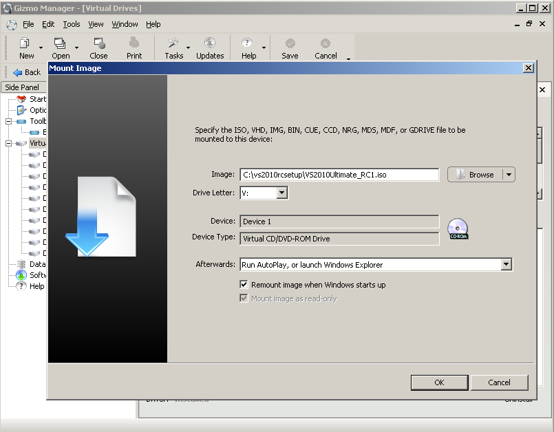 gizmo-to-mount-iso-file-vs2010-installation