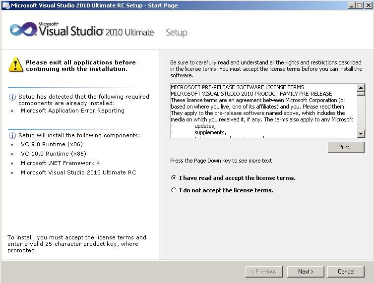 ms-vs2010-download-setup-components