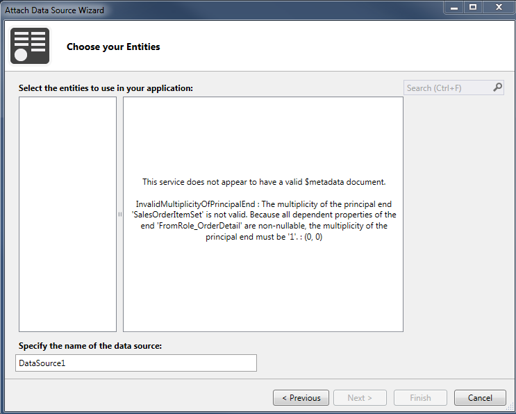 InvalidMultiplicityOfPrincipalEnd error during OData consume in Visual Studio 2013