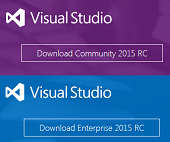 Microsoft Visual Studio 2015 Download for free
