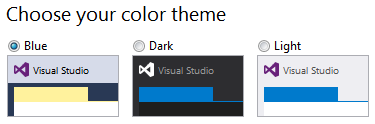 Visual Studio 2015 color theme
