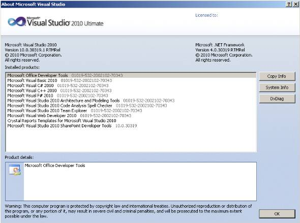 about-visual-studio-2010