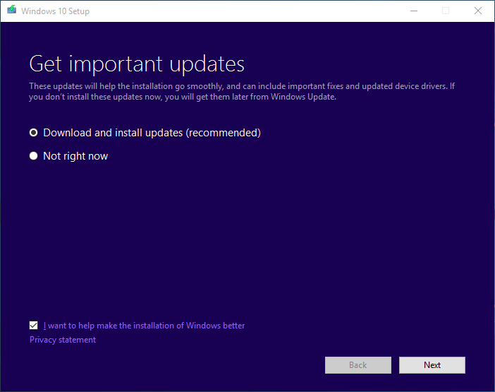 install updates before Windows 10 Anniversary Update