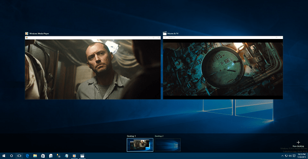 Windows 10 Windows Media Player and Movies and TV app
