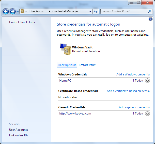 back-up-vault-using-windows-7-credential-manager