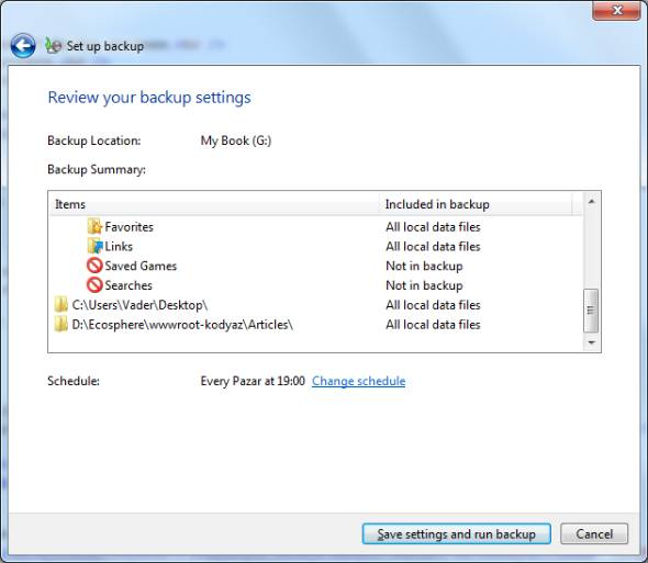 Best backup options for windows 7
