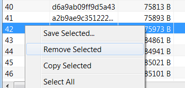 delete or export thumbnail cache of a file using free tool thumbnail viewer