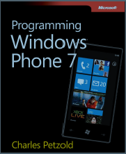 Programming Windows Phone 7 free ebook from Microsoft Press