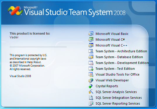 Microsoft-Visual-Studio-2008-installed-items