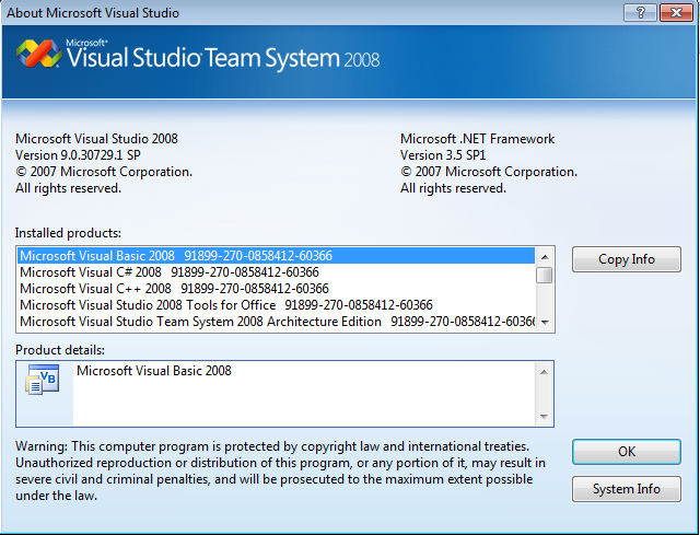 ms-vs2008-version-9.0.30729.1.sp-installed-products