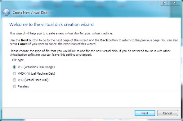 Win8 virtual disk file type