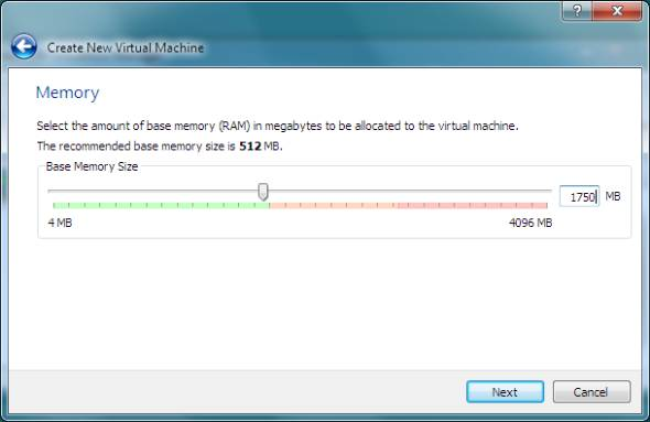 Windows8 memory settings
