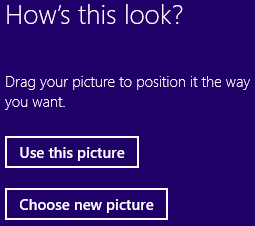 Position password picture on Windows 8 login screen