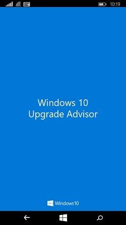 Windows 10 Upgrade Advisor app