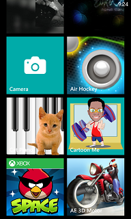 Kid's Corner on Windows Phone 8 smartphone
