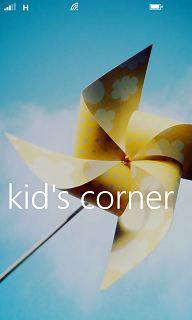 Windows Phone 8 Kid's Corner feature