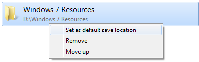 windows-7-set-as-default-file-location