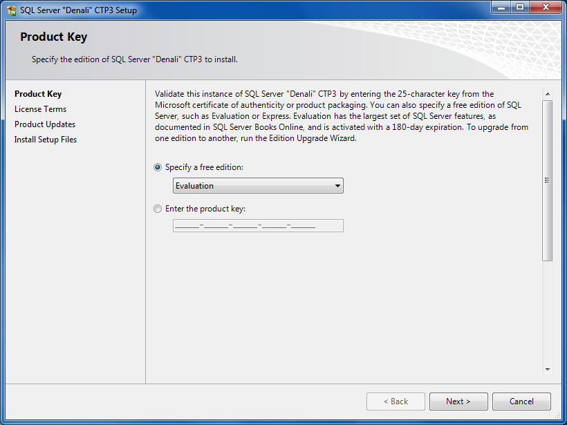How to Install SQL Server 2012 Denali CTP3