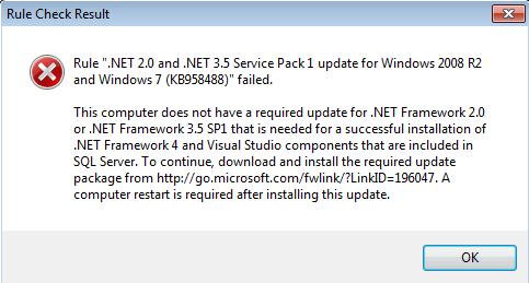 .NET Framework prerequisites